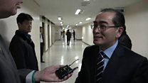 North Korean has 'no regrets' over defection
