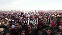 Festa 'viral' de 15 anos reúne milhares de pessoas no México