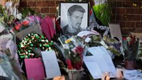 Tributes build at George Michael's home