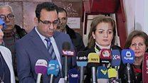 """صحفيون يحملون السلطات المسؤولية عن """"اختطاف"""" الصحفية أفراح شوقي ببغداد"""