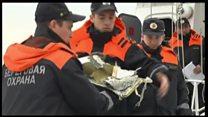ТВ-новости: поисковая операция у берегов Сочи