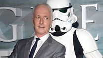Stars Wars actor Anthony Daniels on working with Carrie Fisher