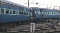 انڈیا میں  ٹرین حادثہ
