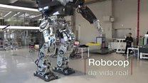 Robô gigante estilo 'Avatar' dá primeiros passos na Coreia do Sul