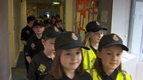 बच्चों का ख़ास पुलिस दल