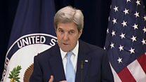 كيري: حل الدولتين هو الوحيد لضمان سلام دائم بين الفلسطينيين والإسرائيليين