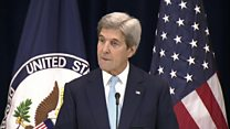 Kerry: Two-state solution in jeopardy