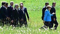 Abategetsi mu bihugu bigize G7 bakiri ku butegetsi ni bande?