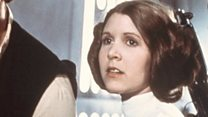 Carrie Fisher's life on film