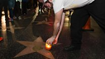 Fans in Hollywood mourn 'vital' Reynolds