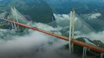 بالفيديو : أطول جسر في العالم
