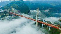 TQ thông xe cây cầu cao nhất thế giới