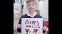 Pupils centre of anti-smoking campaign