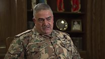 فريحات لبي بي سي: الأردن درب قوات سورية معارضة