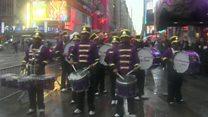 نیویورک خود را برای جشن سال نوی میلادی آماده می کند