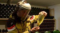 ساخت شراب فرانسوی درخمره های گرجی
