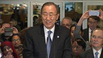UN chief Ban Ki-moon bids a fond farewell