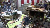 بالفيديو: عشرات القتلى في انفجارين يهزان بغداد