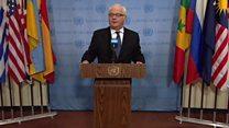 مجلس الأمن الدولي يتبنى مشروع قرار وقف إطلاق النار بسوريا
