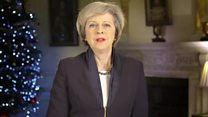 PM May's 'unity' call in new year message