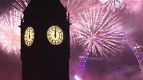 Big Ben ushers in 2017 in London