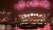 بالفيديو: الاحتفالات بـ 2017 حول العالم