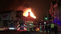 Acton pub gutted in New Year's Eve fire