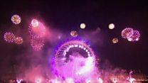 เก็บตกภาพส่งท้ายปีเก่าต้อนรับปีใหม่จากทั่วโลก