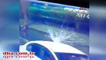 بالفيديو: كاميرات المراقبة ترصد منفذ هجوم اسطنبول