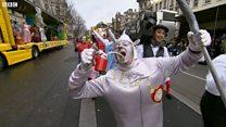 Тисячі взяли участь у новорічному параді в Лондоні