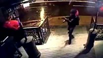 Gunman caught on video during attack
