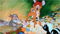 Bambi illustrator 'drew what a forest feels like'