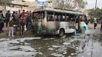 مقتل وإصابة عشرات المدنيين في هجومين انتحاريين شرقي بغداد
