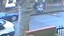 Toddler knocked over after street robbery