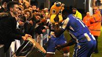 Elokobi 'drums up' U's support