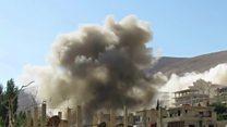 خطرازهمپاشی آتش بس سوریه