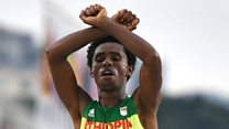 No regrets for Ethiopia's Olympic protester