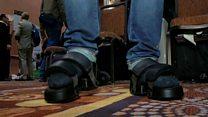 Virtual reality shoes fool feet