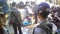 Video pemukulan warga Rohingya oleh aparat
