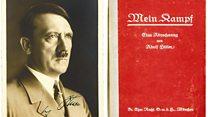 हिटलर की जीवनी  मइन काफ़ पर विवाद