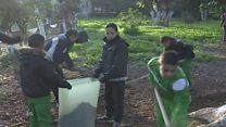 الجزائر:  حملة نظافة لشوارع المدينة لاعادتها إلى رونقها