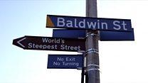 Baldwin Street, la rue la plus inclinée du monde