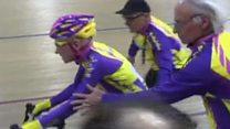 105 سالہ فرانسیسی سائیکلسٹ کا منفرد ریکارڈ
