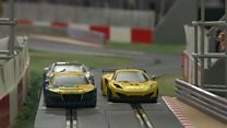 Man builds Scalextric career