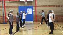Walking Netball speeds up life for pensioners