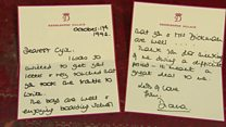 Diana letters sell for £15,000