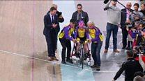 دوچرخهسوار 105 ساله، رکورد شکست