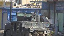 حمله ارتش عراق و متحدانش به داعش در استان انبار