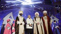 Three Kings parade in Madrid