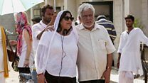 Om Puri 'relished being on set'